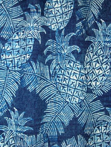Tommy Bahama Carate Batik Azul Outdoor Fabric By The