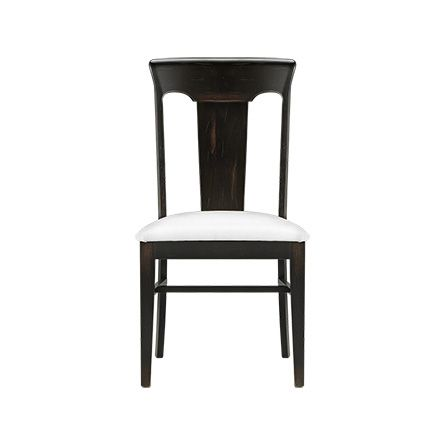 Dining Table Chairs Set Of 2 Leather Upholstered Seat Metal Modern