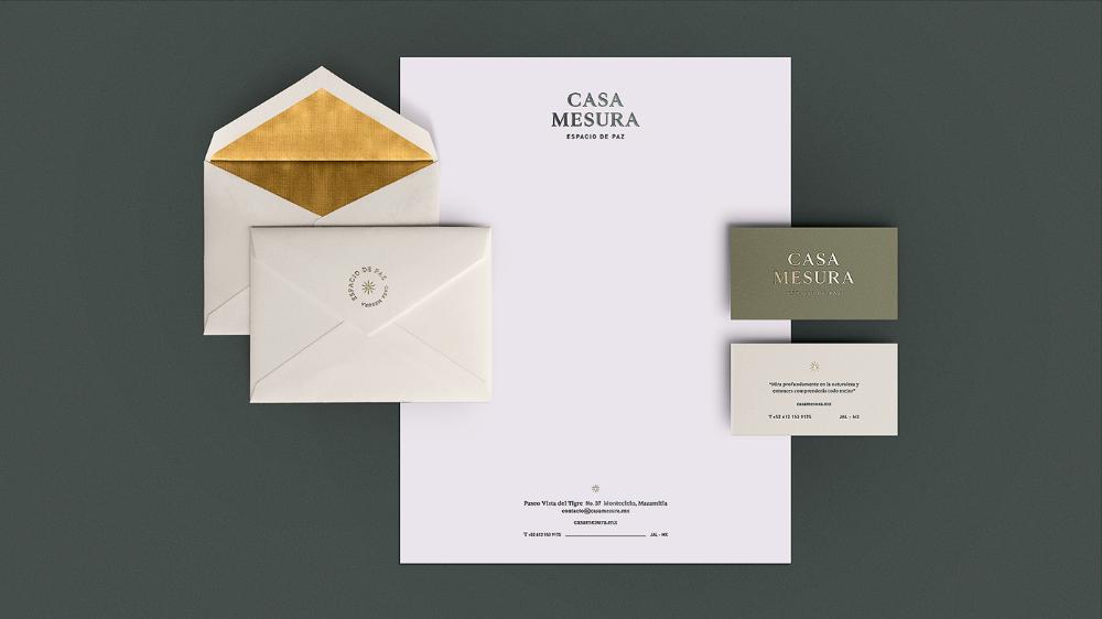 Casa Mesura On Behance Corporate Design Creating A Brand