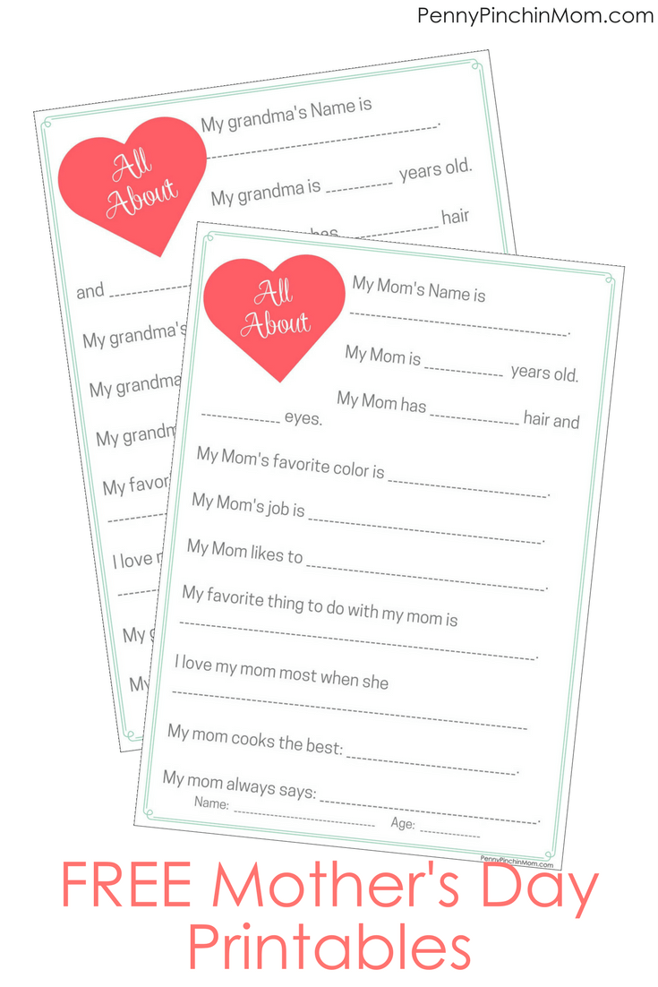 picture about All About Grandma Printable identify Free of charge All With regards to Mother and Grandma Printables For Tiff