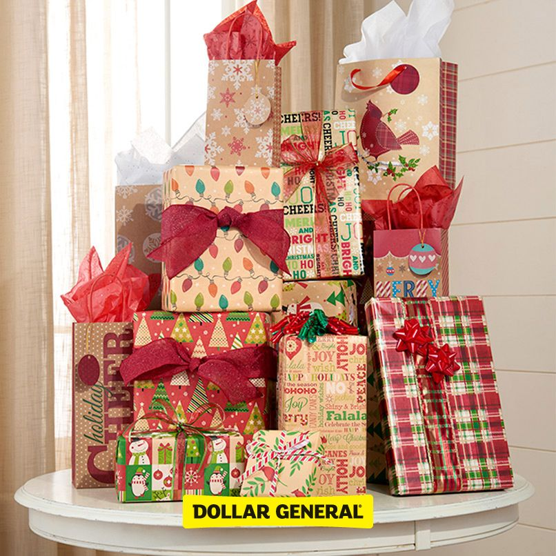 Find boxes, bows, paper and more at your local Dollar General this - dollar general christmas decorations