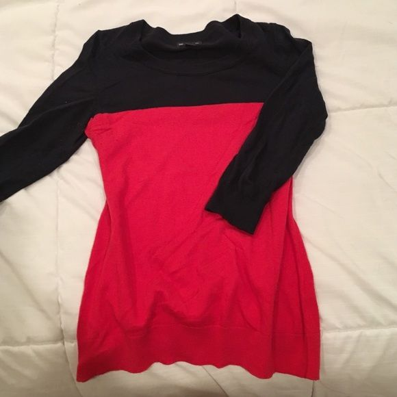 Gap color block sweater. Some pilling. Gap color block sweater, some pilling as shown GAP Tops