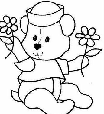 osos de peluche para dibujar hermosos   Dibujos para pintar ...