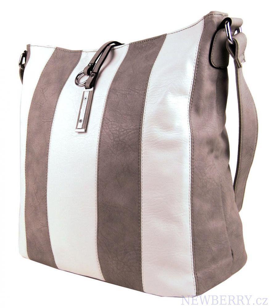 Módní crossbody kabelka AE-0860 světle starorůžová : NewBerry - kabelky, tašky, batohy