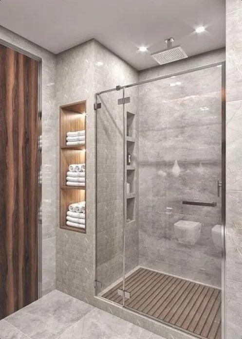 Small Contemporary Bathroom Designs For The Home Pinterest Transitional Bathroom Design Small Bathroom Remodel Bathroom Remodel Master