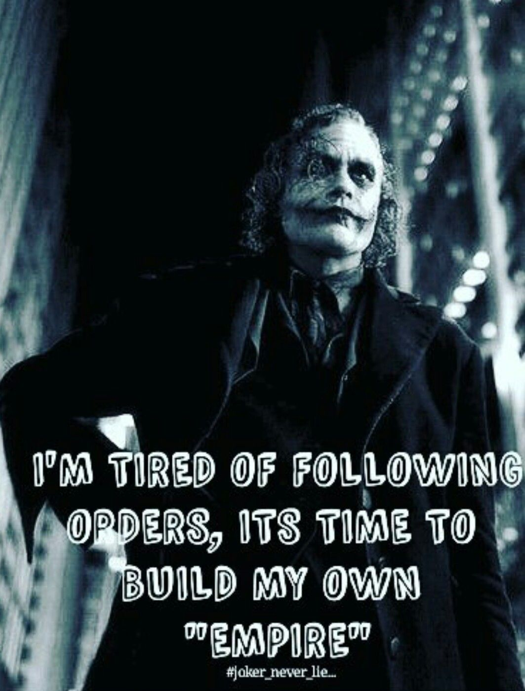 Joker Quotes Mesmerizing Legends  Joker  Pinterest  Joker Joker Quotes And Thoughts