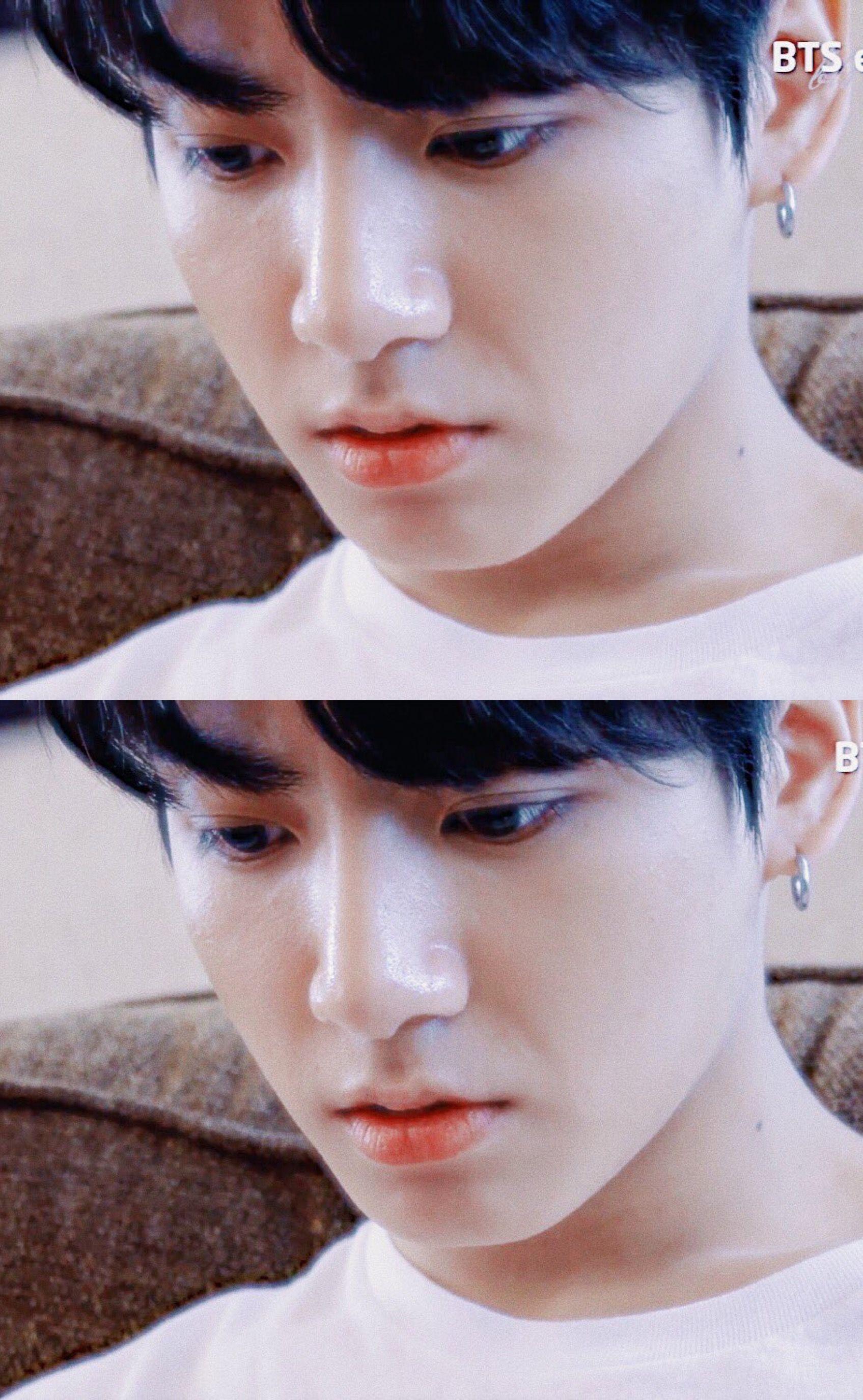 Yoongi nose piercing  JUNGKOOK   EPISODE BTS 방탄소년단  AMAs   BTS