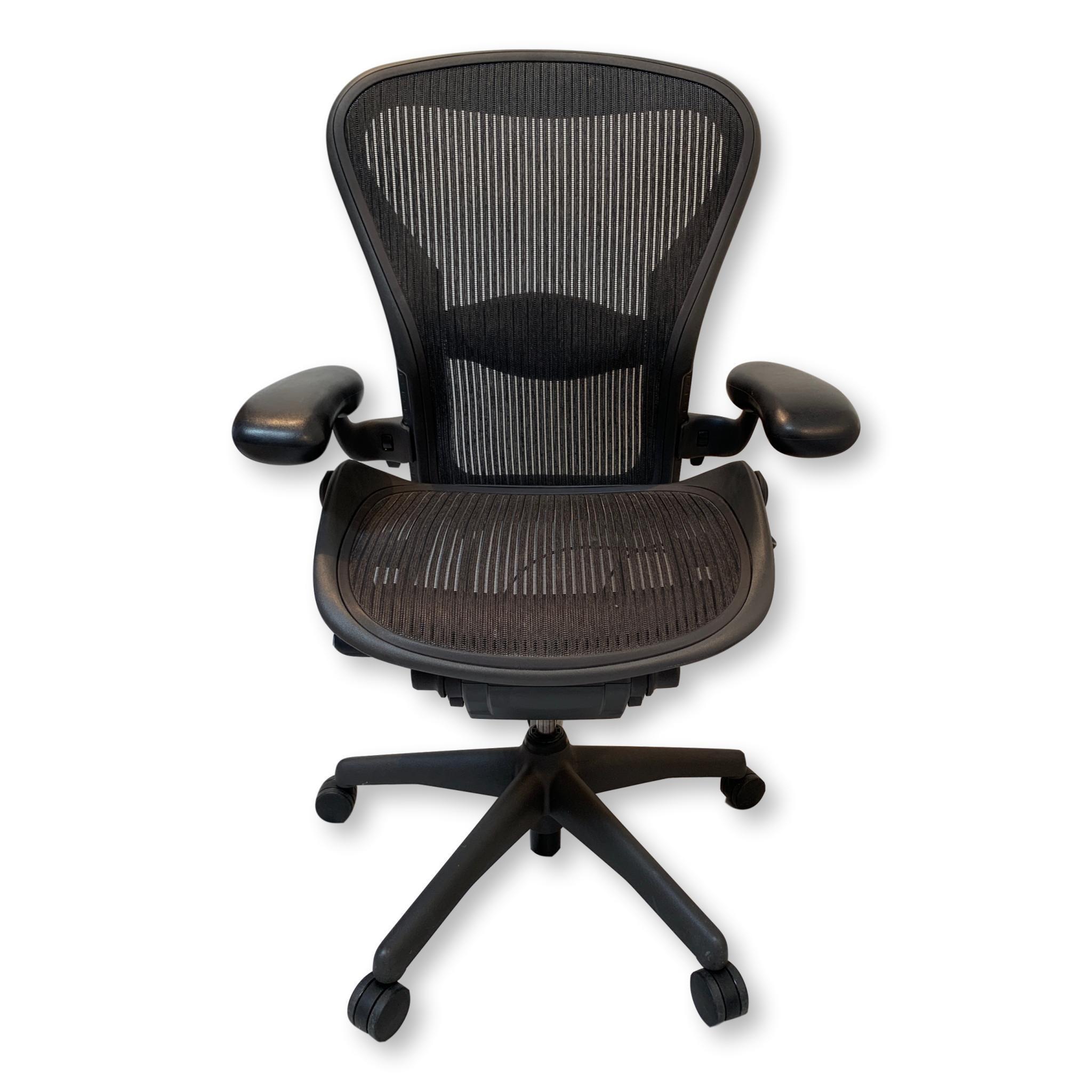 Herman miller aeron chair fully featuredsize c herman