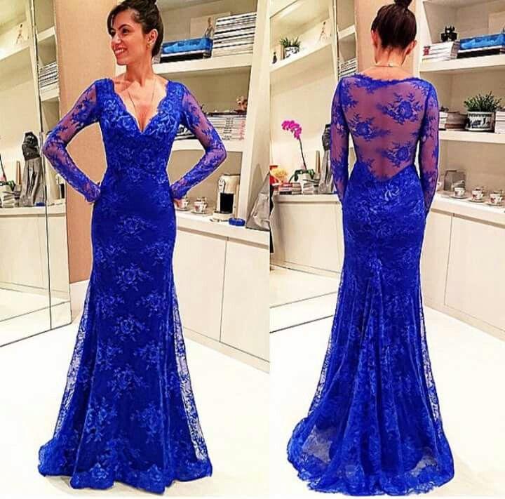Bonito Eléctricos Vestidos De Dama Azul Adorno - Vestido de Novia ...