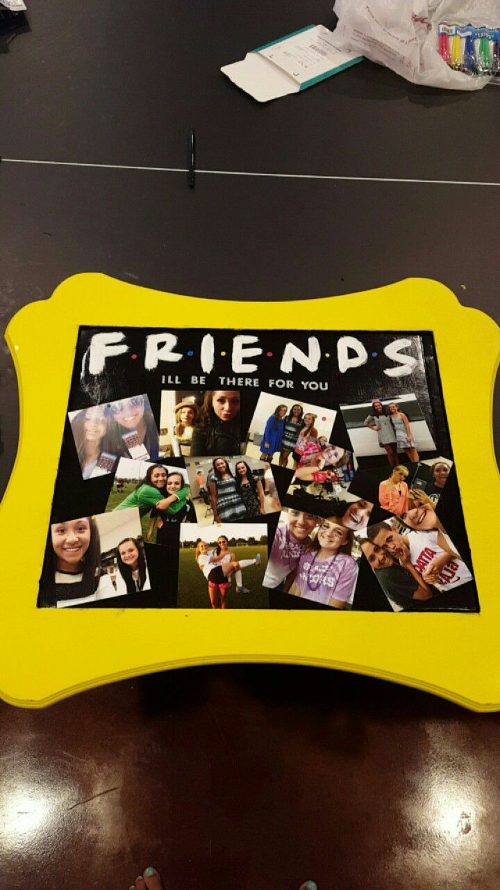 Friends Tv Show Themed Birthday Gift Friends Party Birthday Gift Ideas Birthday Gifts