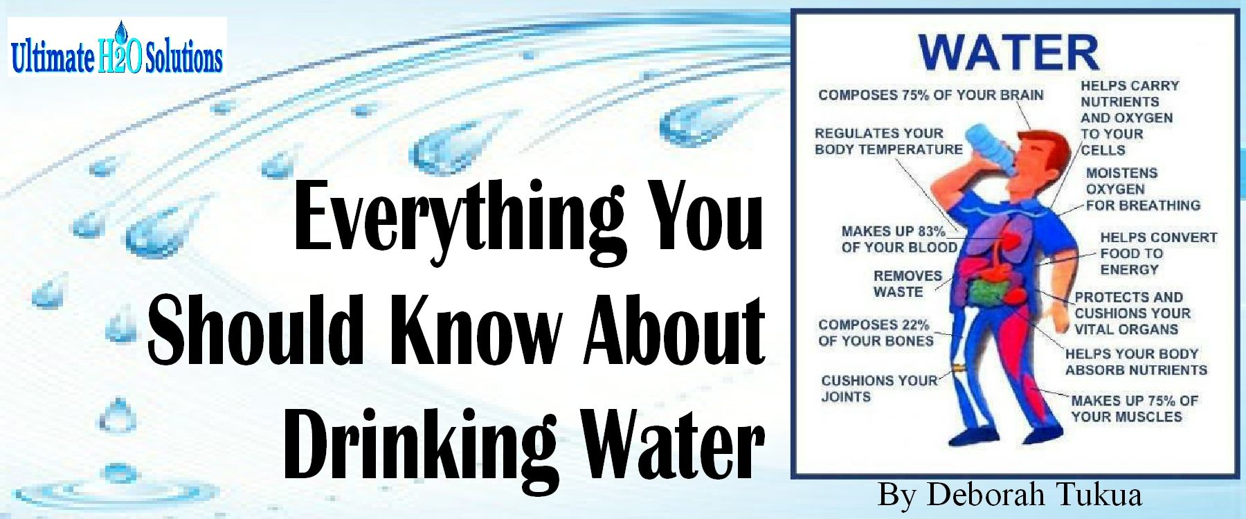 Learn healthy drinking water habits and how you can purify your tap water at work.