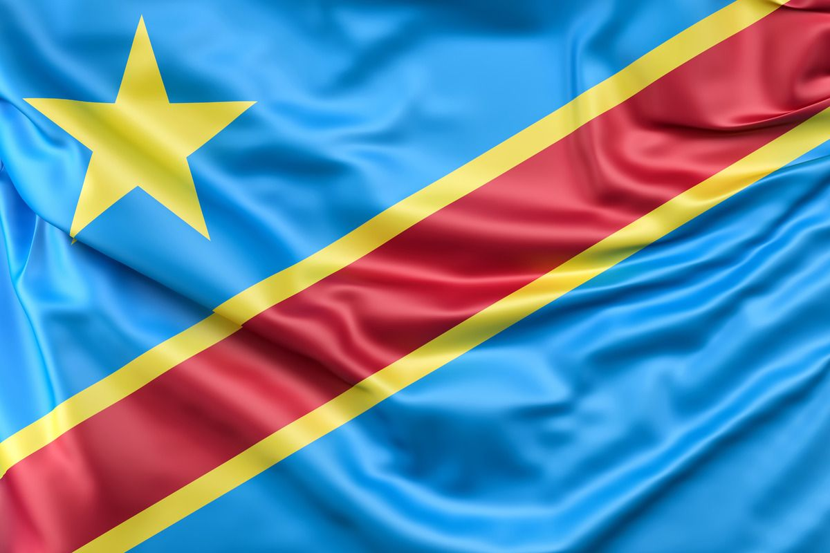 Pin By Slon Pics On Art In 2020 Democratic Republic Of The Congo Africa Flag Congo Flag