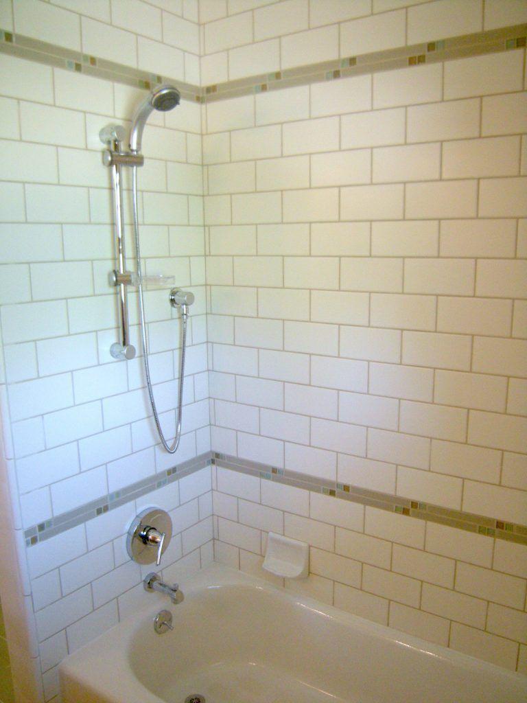 4x8 Subway Tile Wall Bathtub Walls Narrow Bathroom Designs