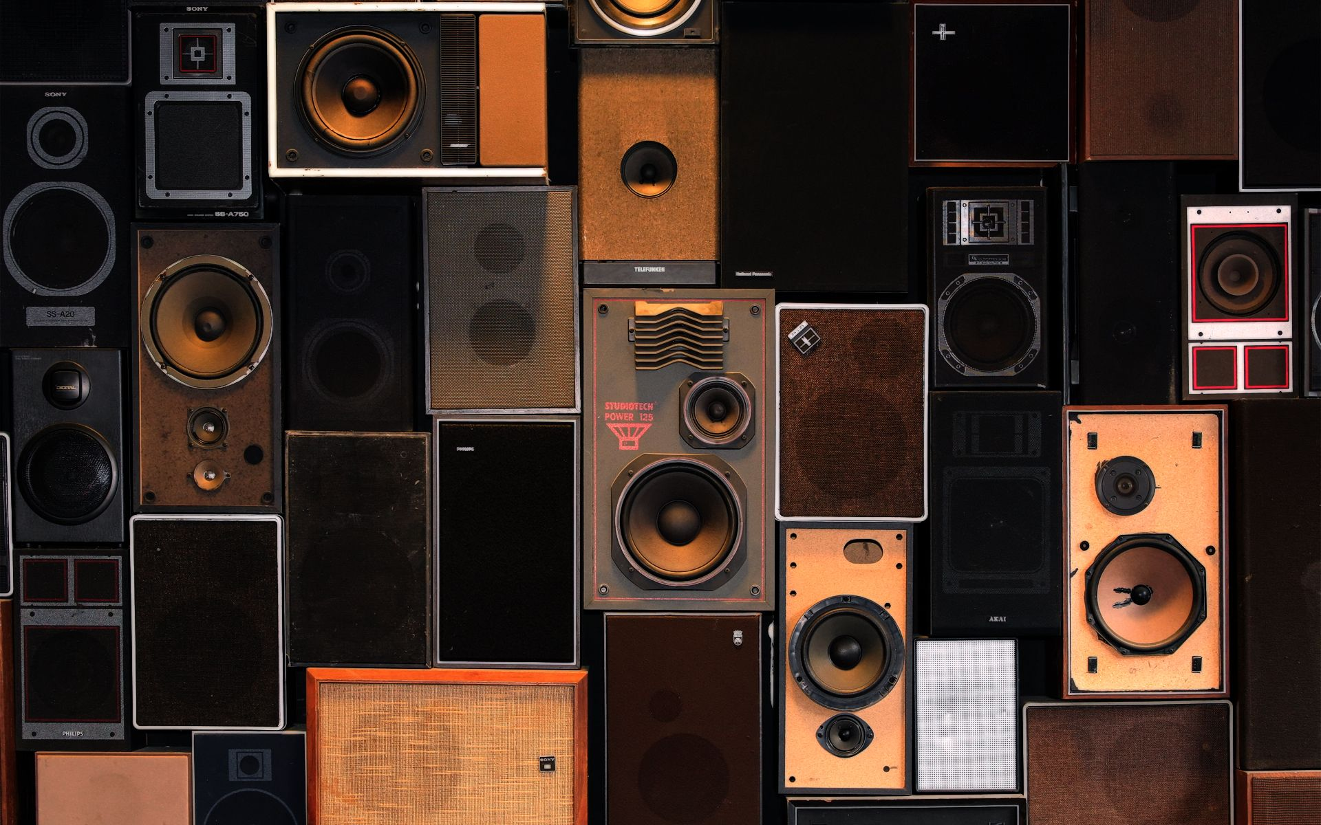 Always Wanted A Wall Full Of Speakers This Is Actually Wallpaper Sneaky Speaker Wallpaper Wall Hd Wall Of Sound