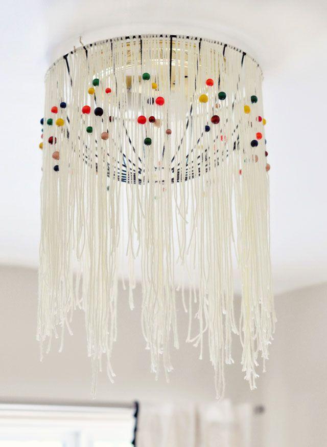 DIY retro Pendant L& from wire basket planter-5-1 & DIY retro Pendant Lamp from wire basket planter-5-1 | LOVE ...