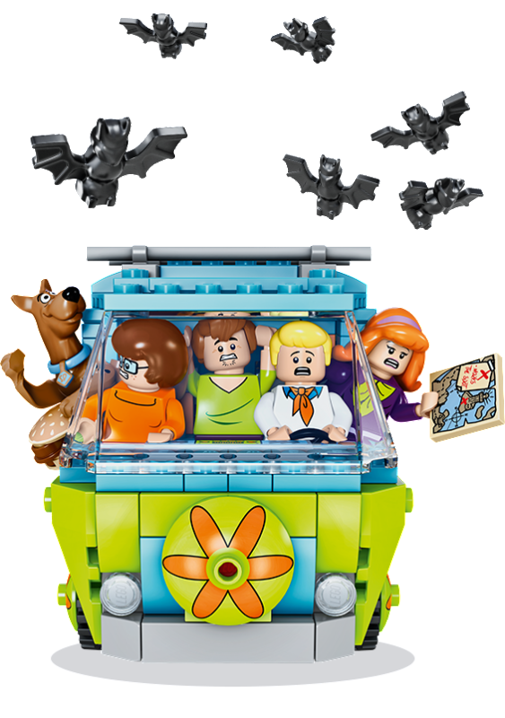 Amazing lego scooby doo stop motion videos with giveaway - Jouets scooby doo ...