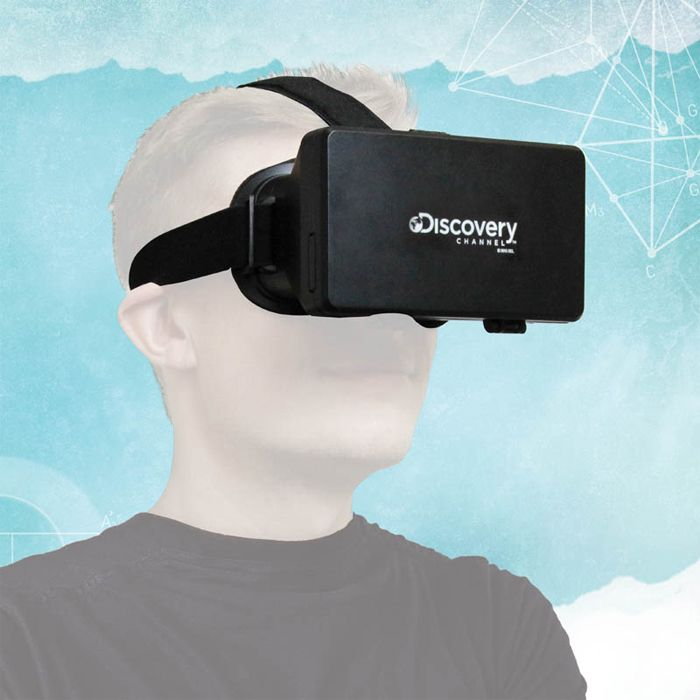 """<p><span style=""""font-size: medium;""""><strong>DISCOVERY CHANNEL VIRTUAL REALITY GLASSES</strong></span><br /><br />Step inside a virtual world with this reality headset from Discovery channel. Replicate any kind of environment you want, choose your se"""