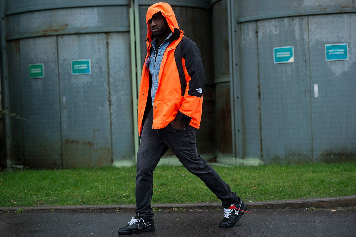 We caught Off-White's Virgil Abloh at Paris Fashion Week in his finest front-row-ready style and here's how to get his look for less.