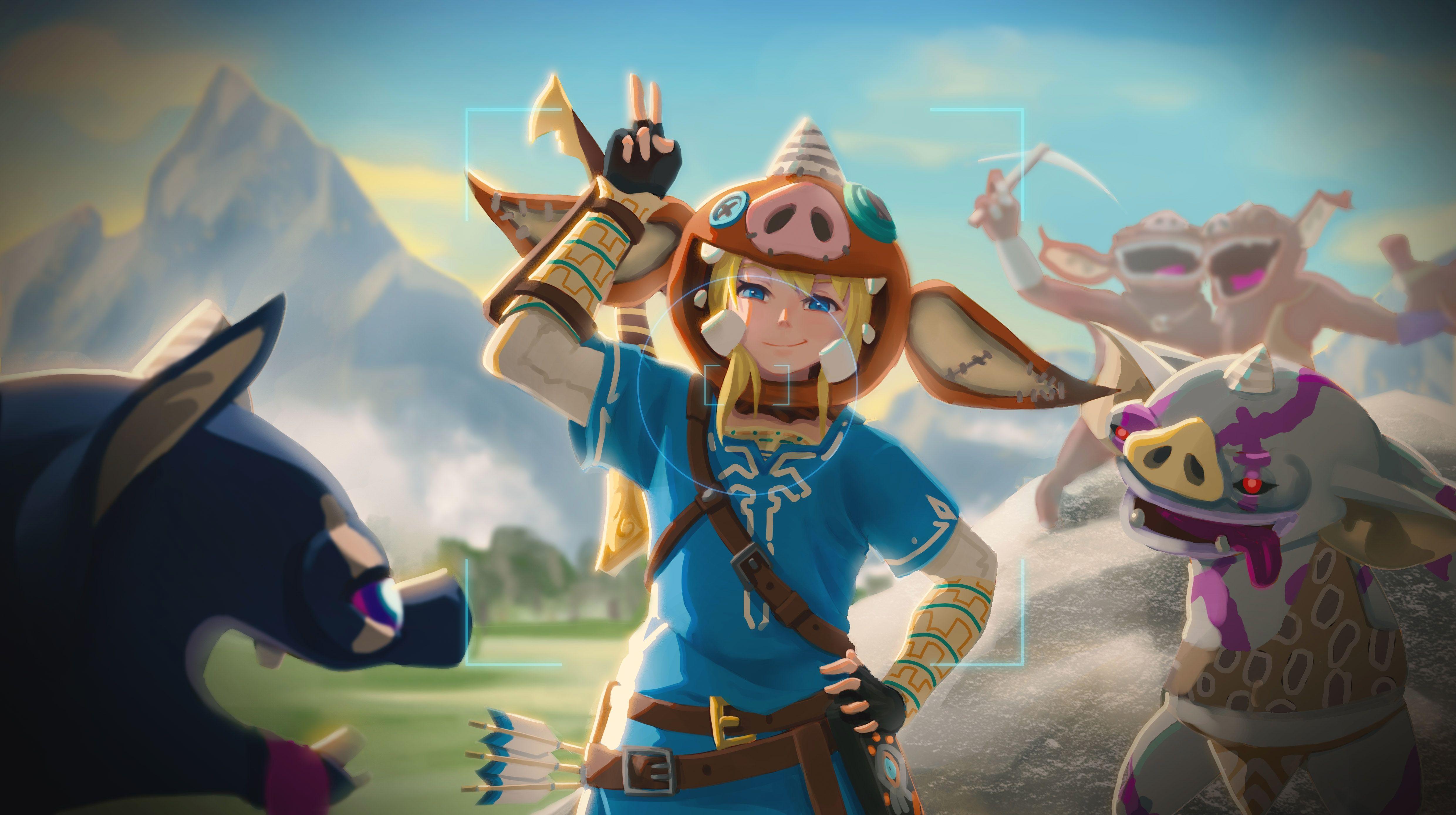Selfie With The Moblins Botw Selfie Legend Of Zelda Memes Legend Of Zelda Legend Of Zelda Breath