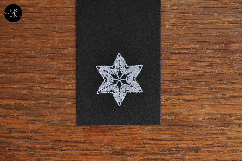 Stempel Weihnachtsstern von bastisRIKE von bastisRIKE auf DaWanda.com