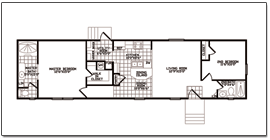Layout in 2019 | Mobile home floor plans, Floor plans ... on narrow home painting, narrow home media, narrow home elevations, narrow home design, narrow house layout, narrow home plan, narrow home blueprints,
