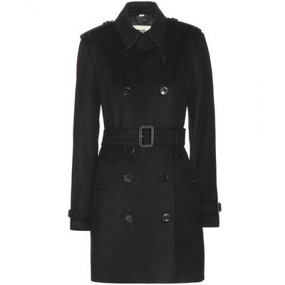 Burberry London - The Kensington wool and cashmere-blend coat #coat #burberry #covetme #burberrylondon