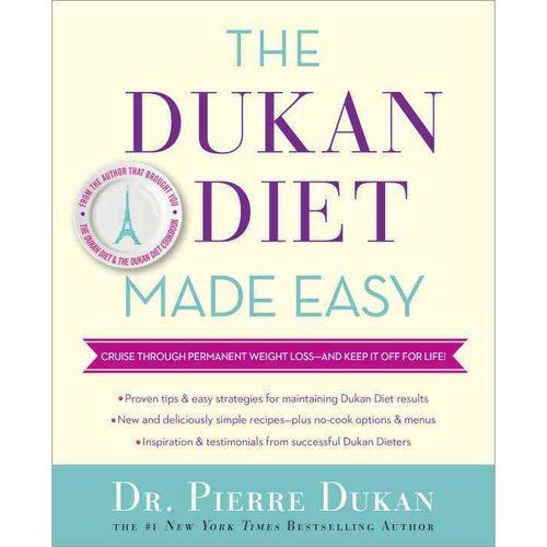 The Dukan Diet Made Easy: Cruise Through Permanent Weight Loss - and Keep It Off for Life! -- To view further for this item, visit the image link.