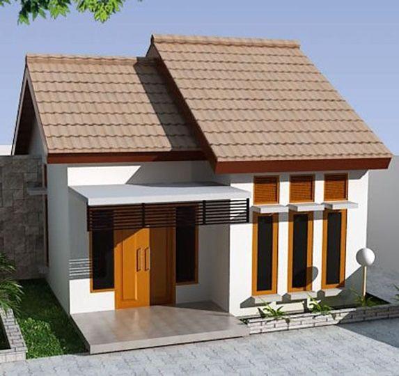 Sketsa Rumah Minimalis Modern 1 Lantai Type 36 2 Modern Small House Design Small House Design Modern House Design