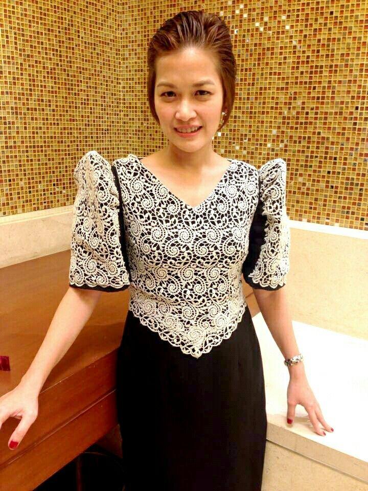 Filipiniana Dress  Philippine National Dresses For Female -5857