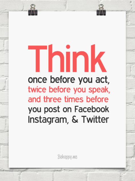 Image result for think before you post quotes