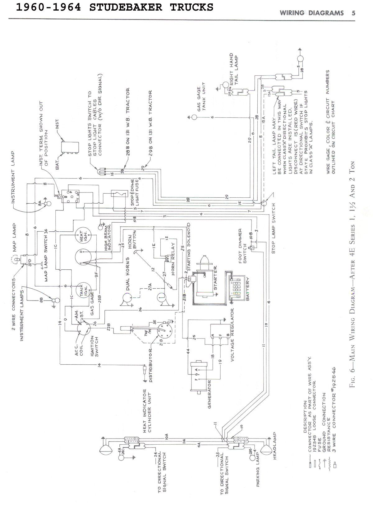Marmon Truck Wiring Diagrams Free Download Studebaker Transtar Trusted 89 Chevy Diagram At