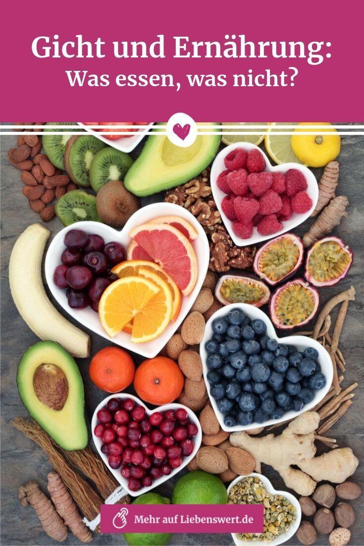 Gicht und Ernährung: Was essen und was nicht?