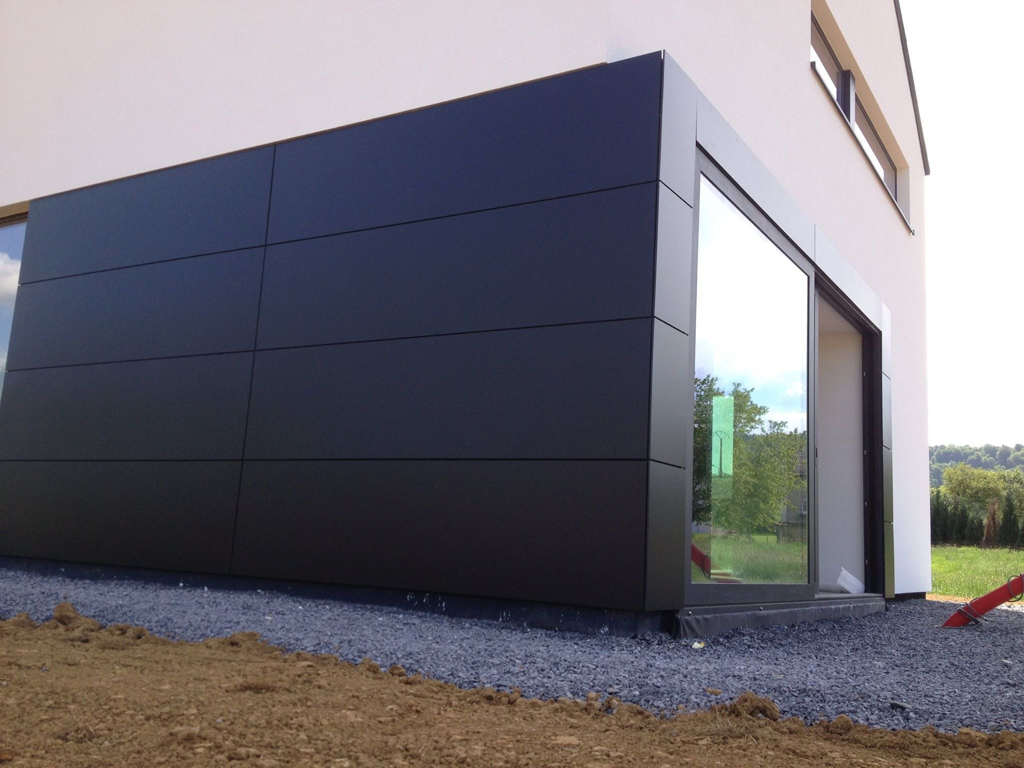 bardage trespa hm concept haus pinterest cladding exterior cladding and exterior siding. Black Bedroom Furniture Sets. Home Design Ideas