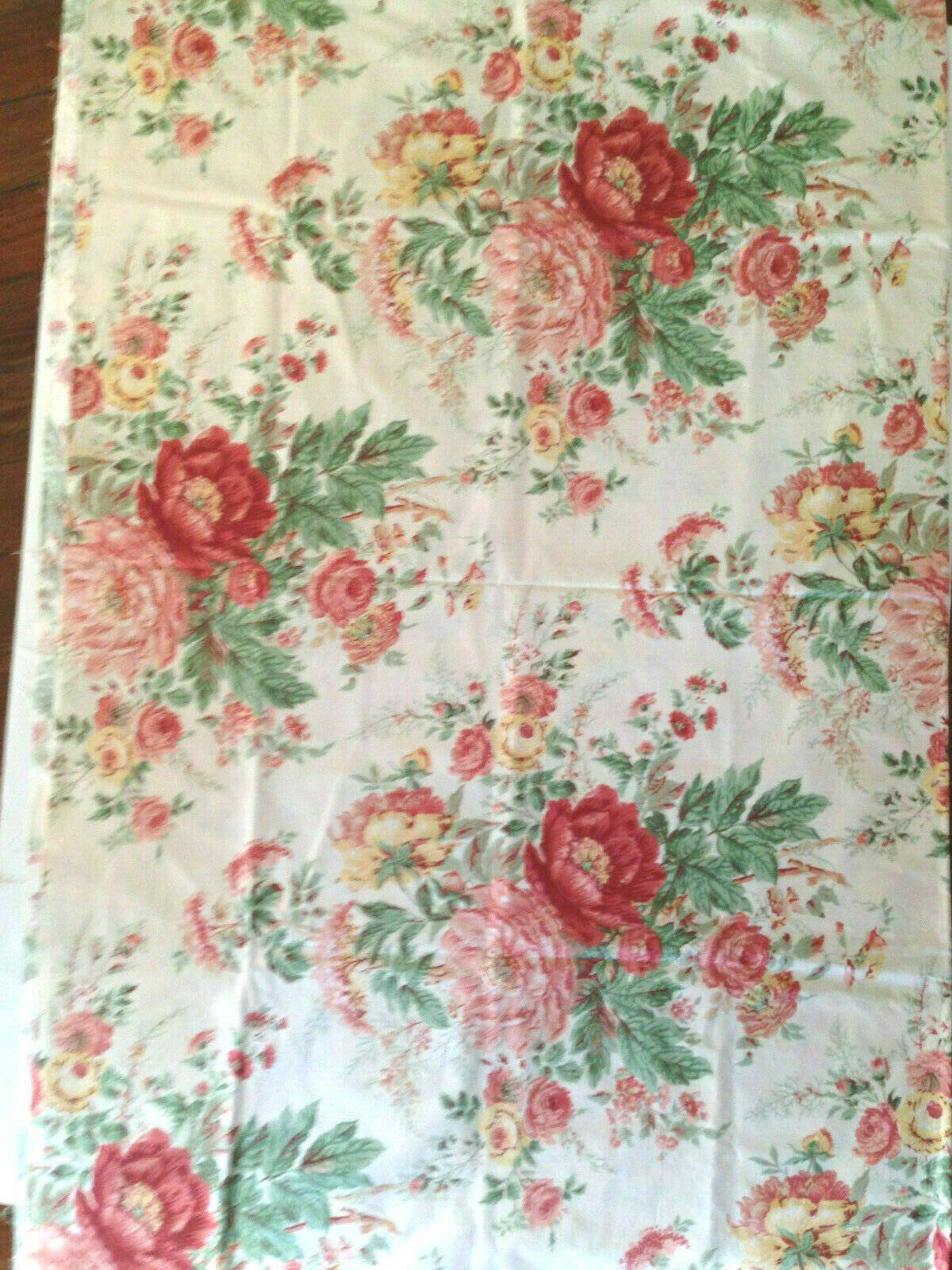 COLEFAX AND FOWLER Large Roses Floral FABRIC DESIGN 54