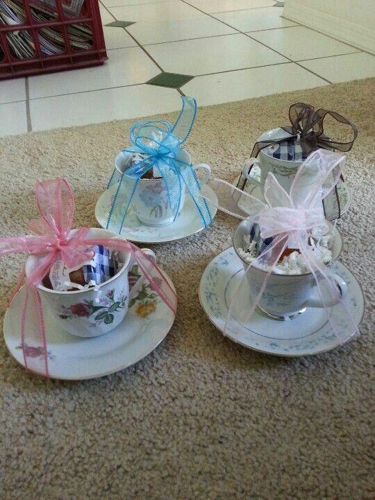 teacup party favor