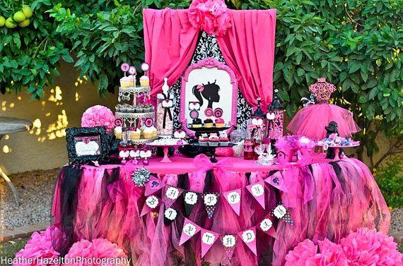 Birthday Party Ideas for Peyton Party Pinterest Barbie