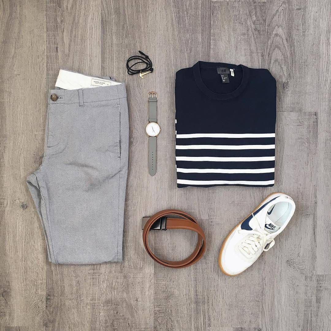 "Capsule Wardrobe System � on Instagram: ""An Outfit Grid We're Drooling Over. Via @mitchyasui . . Follow � @capsulewardrobemen � . . . #mensfashion #outfitgrid #outfitoftheday…"""