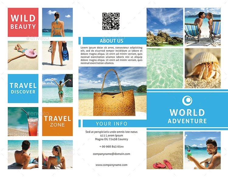 18 Best Travel Tourism Brochure Design Templates Page 2 Of 2