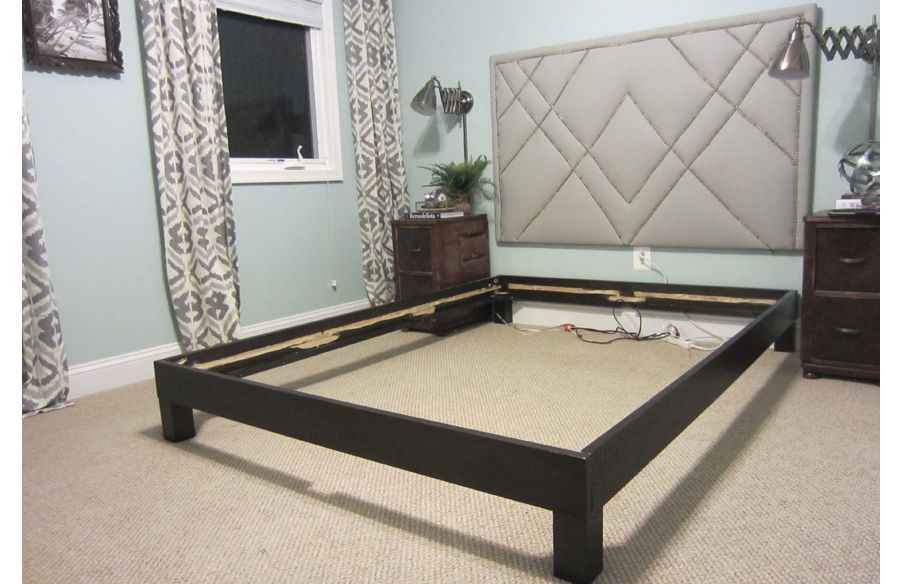 How To Convert A Platform Bed For A Box Spring Bedroom Furniture