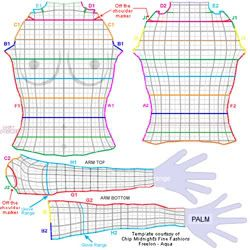 Second Life Clothing Templates | Clothes Making - Second