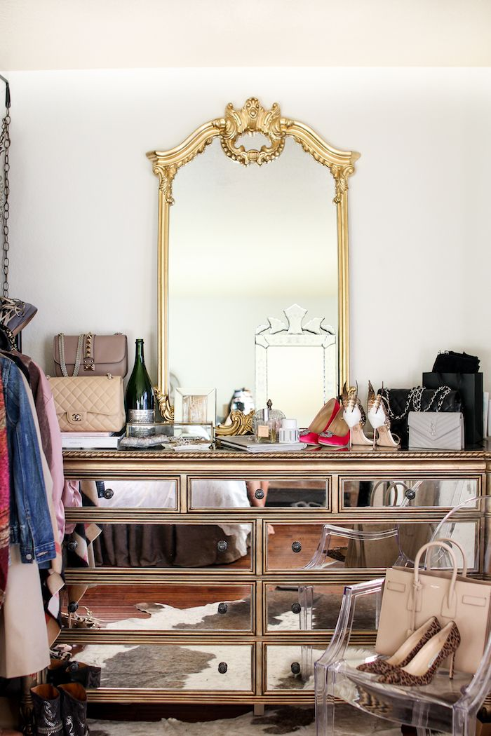 Joss And Main Mirrored Dresser With Images Bedroom Decor