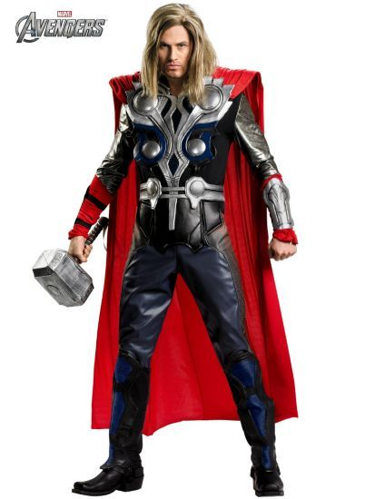 Theatrical Quality Avengers Thor Costume Mens Thor Costumes - halloween costumes ideas men