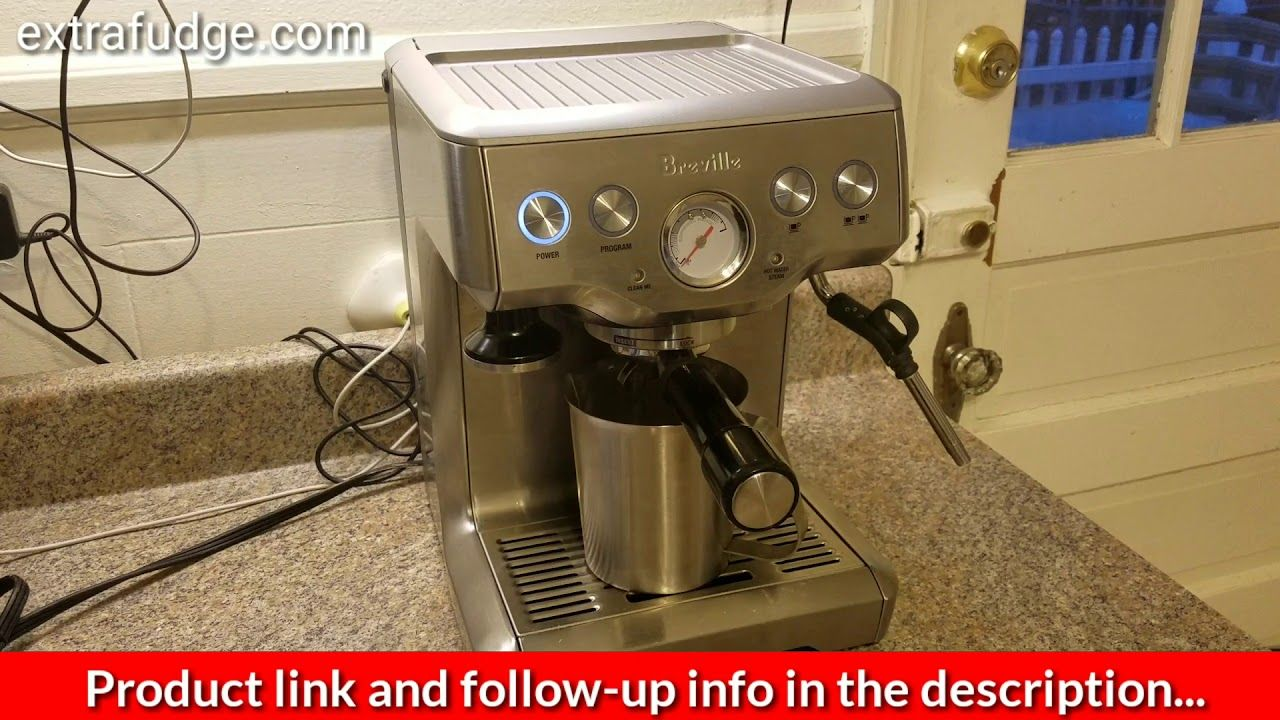 How to do a cleaning cycle on the Breville Espresso
