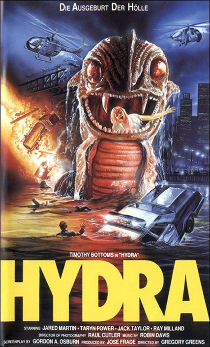 Hydra (A K A The Sea Serpent (1984)) | 80's Monster Movies