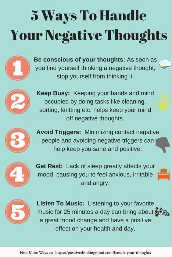 Handling Your Negative Thoughts, The Positive Way | Positive Thinking Mind