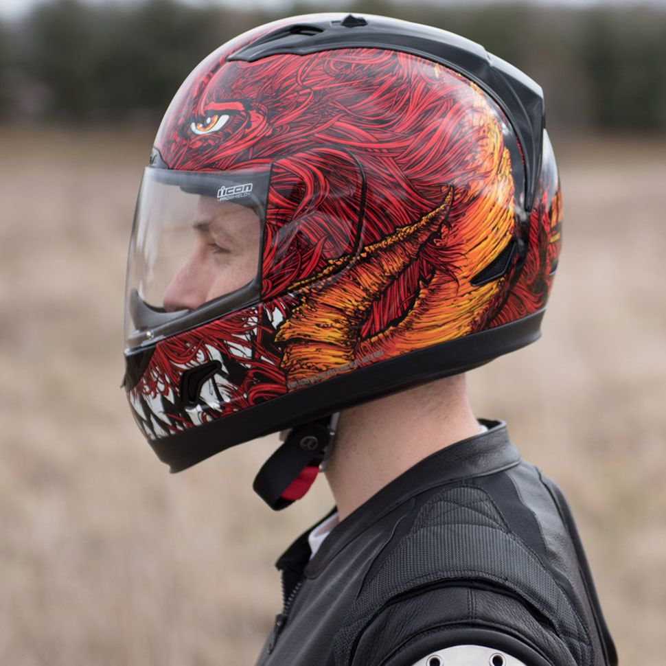 Icon Alliance Lucifer Helmet Helmet, Open face helmets