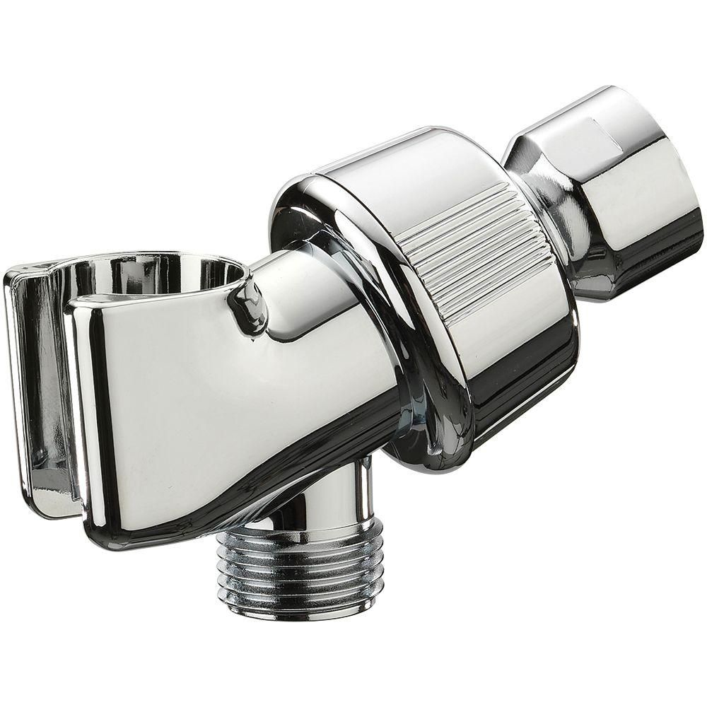 Glacier Bay Shower Arm Mount In Chrome 3075 532 Shower Arms
