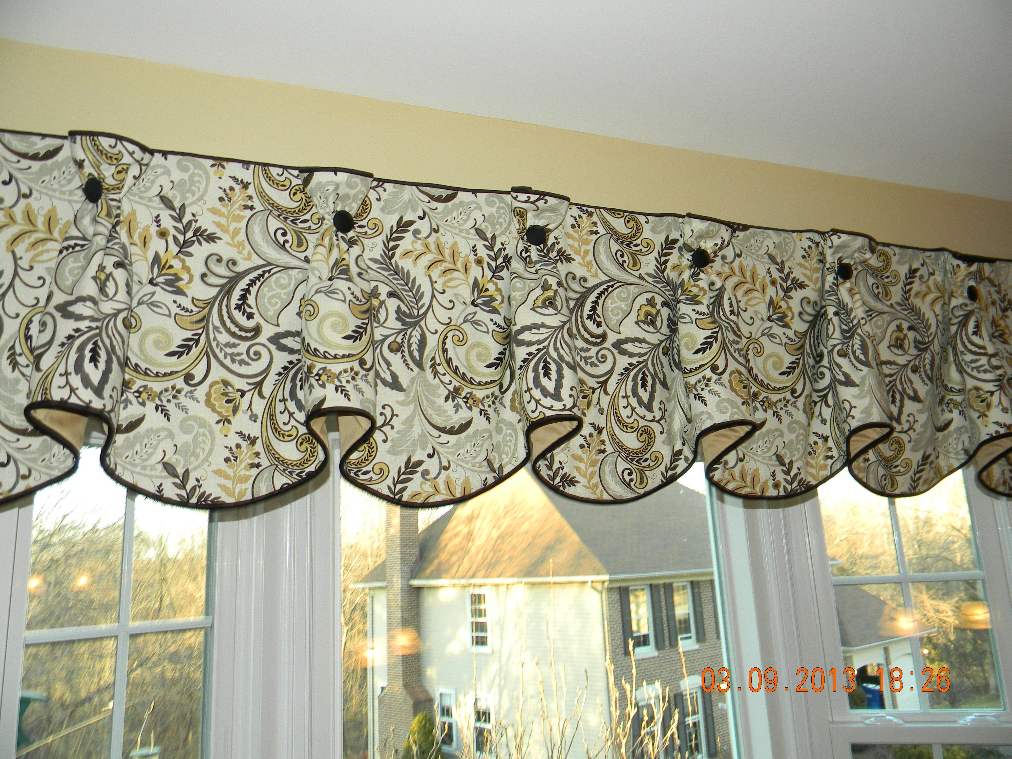 queen anne valance window treatments pinterest valance