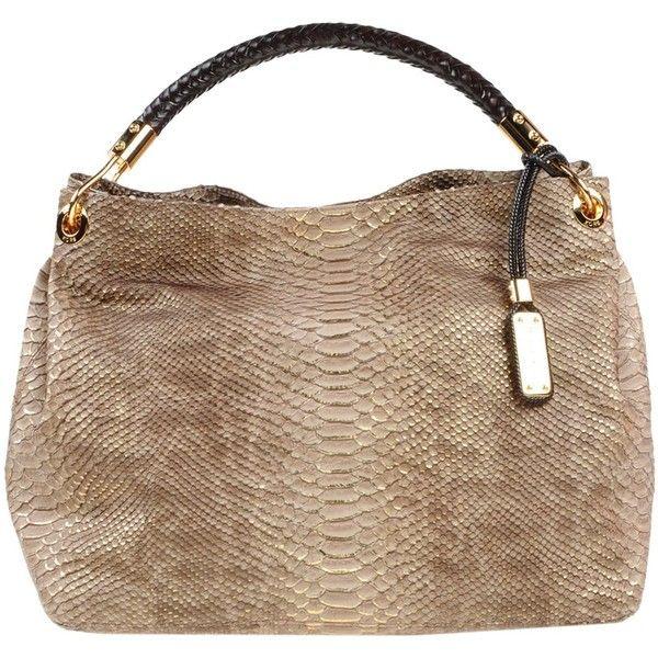 Michael Kors Handbag 615 Liked On Polyvore Featuring Bags Handbags Beige