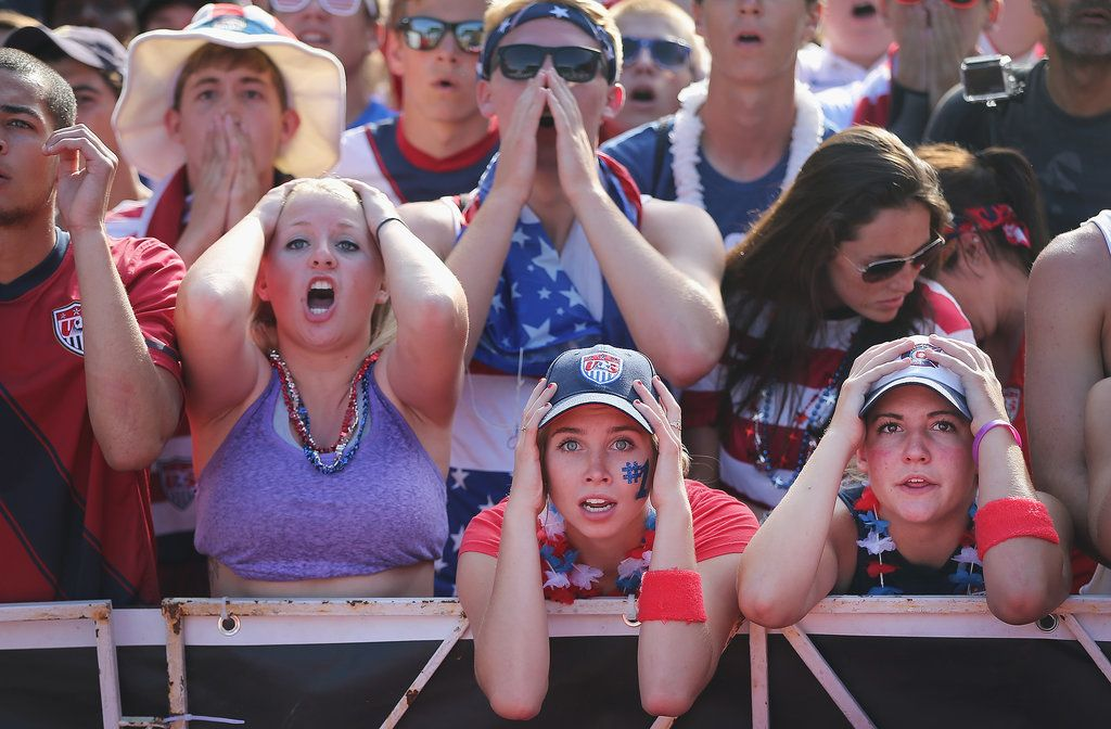 World Cup Fans Are Feeling All Kinds Of Emotions